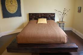 low profile wood bed frame foter intended for wooden ideas 2
