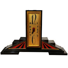 Unique Desk Clocks Art Deco Table Clock Art Deco Clocks And French Art