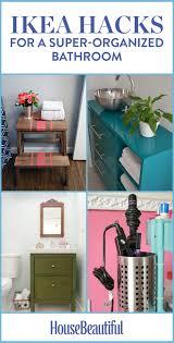 Furniture In The Bathroom 11 Ikea Bathroom Hacks New Uses For Ikea Items In The Bathroom