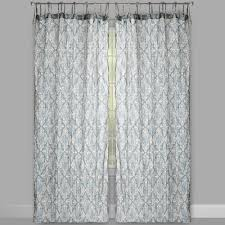 Tie Top Curtains Cotton by The Naya Collection Taupe Cotton Crinkle Tie Top Window Curtains