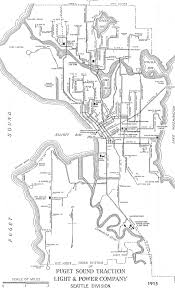 Seattle City Limits Map by Seattle Department Of Transportation Transit Program