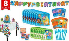 Bubble Guppies Decorations Bubble Guppies Party Supplies Bubble Guppies Birthday Party City