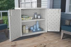 suncast 97 gallon resin cabinet u0026 reviews wayfair