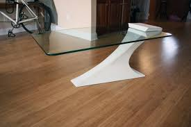 Ultra Modern Coffee Tables Ultra Modern Coffee Table With One Cantilever Leg Cantilevered