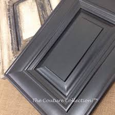 kitchen cabinet glazing this cabinet door is painted with shale stone paint couture then