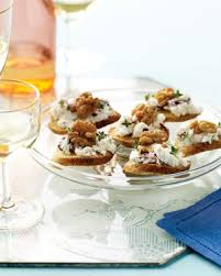 goats cheese canape recipes goat cheese cranberry and walnut canapes