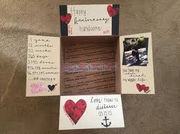 one year anniversary ideas 1 year anniversary care package our deployment