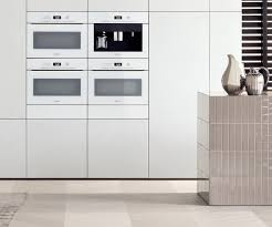 Design Line Kitchens by Artline Built In Appliances With Touch2open Miele Appliances
