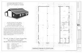 house plan 40 60 shop plans with living quarters metal beautiful