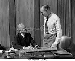1940s Desk 1940s Men Office Desk Work Black And White Stock Photos U0026 Images