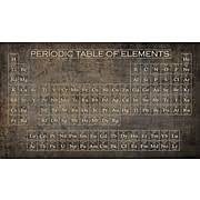 periodic table framed art periodic table