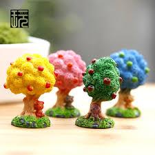 zakka kawaii apple tree figurines garden accessories