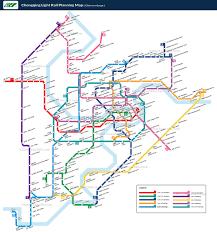 China Train Map by China Chongqing Maps City Tourist Attractions Metro Light Rail