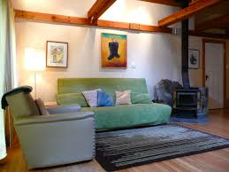 furniture comfortable green hideabed with cozy pier one rugs and