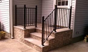 Interior Railings Home Depot Stairs Glamorous Wrought Iron Hand Railing Wrought Iron Handrails
