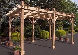 outdoor living today 10 x 10 4 post breeze pergola u2013 yard outlet