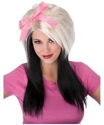wig halloween scene bow wig wig halloween wig at wonder costumes