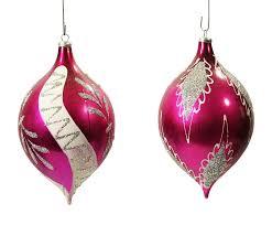 vintage teardrop ornaments a pair chairish