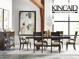 kincaid dining room furniture design center solid wood furniture kincaid wildfire