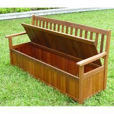 Garden Storage Bench Wood Teak Garden Storage Bench Modern Garden Storage Bench U2013 Wood