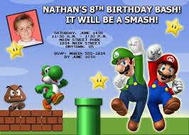 birthday invites free download top 10 mario birthday invitations