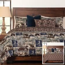Comforter Gone Fishing Comforter Set Cabin Place
