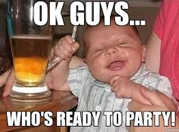 Memes Party - drunk party baby weknowmemes generator