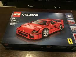 lego ferrari f40 10248 u2013 creator ferrari f40 lego republic