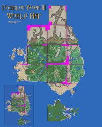 Mail Map Eschalon Book 3 World Map Eschalon Rpg Wiki Fandom Powered By