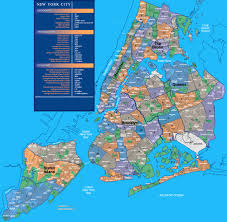 map of nyc areas map of nyc areas major tourist attractions maps at