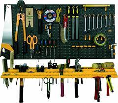 garage wall tool rack storage kit tools organizer home shelves