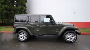 jeep dark green 2015 jeep wrangler unlimited sahara tank fl561005 redmond