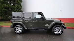 green jeep rubicon unlimited 2015 jeep wrangler unlimited sahara tank fl561005 redmond