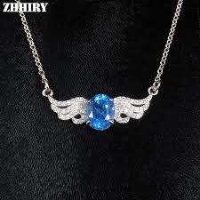 natural topaz necklace images Buy natural blue topaz necklace genuine 925 jpg