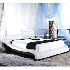 leather bed frame smartwedding co