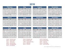 2018 retail accounting calendar 4 4 5 free printable templates