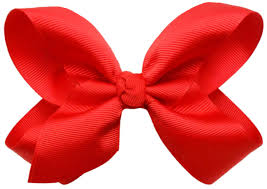 hair bow tie big hair bow with alligator clip