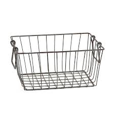 amazon com skalny rectangle wire storage container 16 x 12 x 6 5