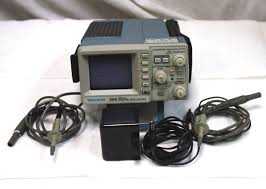 tektronix 224 miniscope handheld digital storage oscilloscope w 2