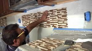 installing a backsplash in kitchen kitchen installing kitchen tile backsplash hgtv glass mosaic in