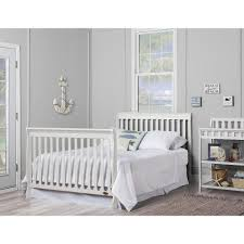 4 In 1 Convertible Crib White by Dream On Me Ashton 4 In 1 Convertible Crib White Toys