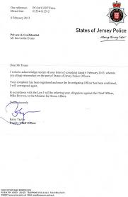 example complaint letter against police officer compudocs us