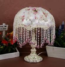 girls shabby chic table lamps