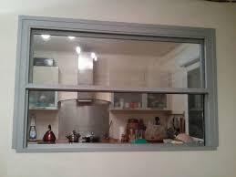 fenetre separation cuisine passe plat fenêtre marque baudisson aménagement house