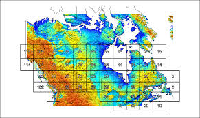 map of canada atlas canadian wind atlas