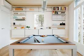 Dining Room Pool Table This Kitchen Has A Dining Pool Table Combo