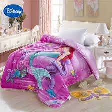 disney mermaid princess promotion shop for promotional disney princess little mermaid comforters disney character reactive printing cotton covers girls bedroom decor single twin queen size