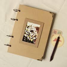 scrapbook photo album aliexpress buy vintage kraft photo album travel handmade diy