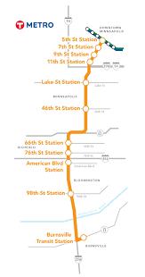 Light Rail Map Minneapolis Where Should The Orange Line Terminate Streets Mn