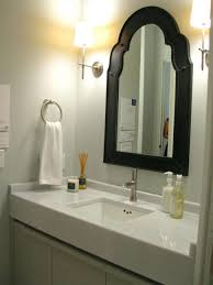 bathrooms design frameless bathroom mirror wall hanging fixing